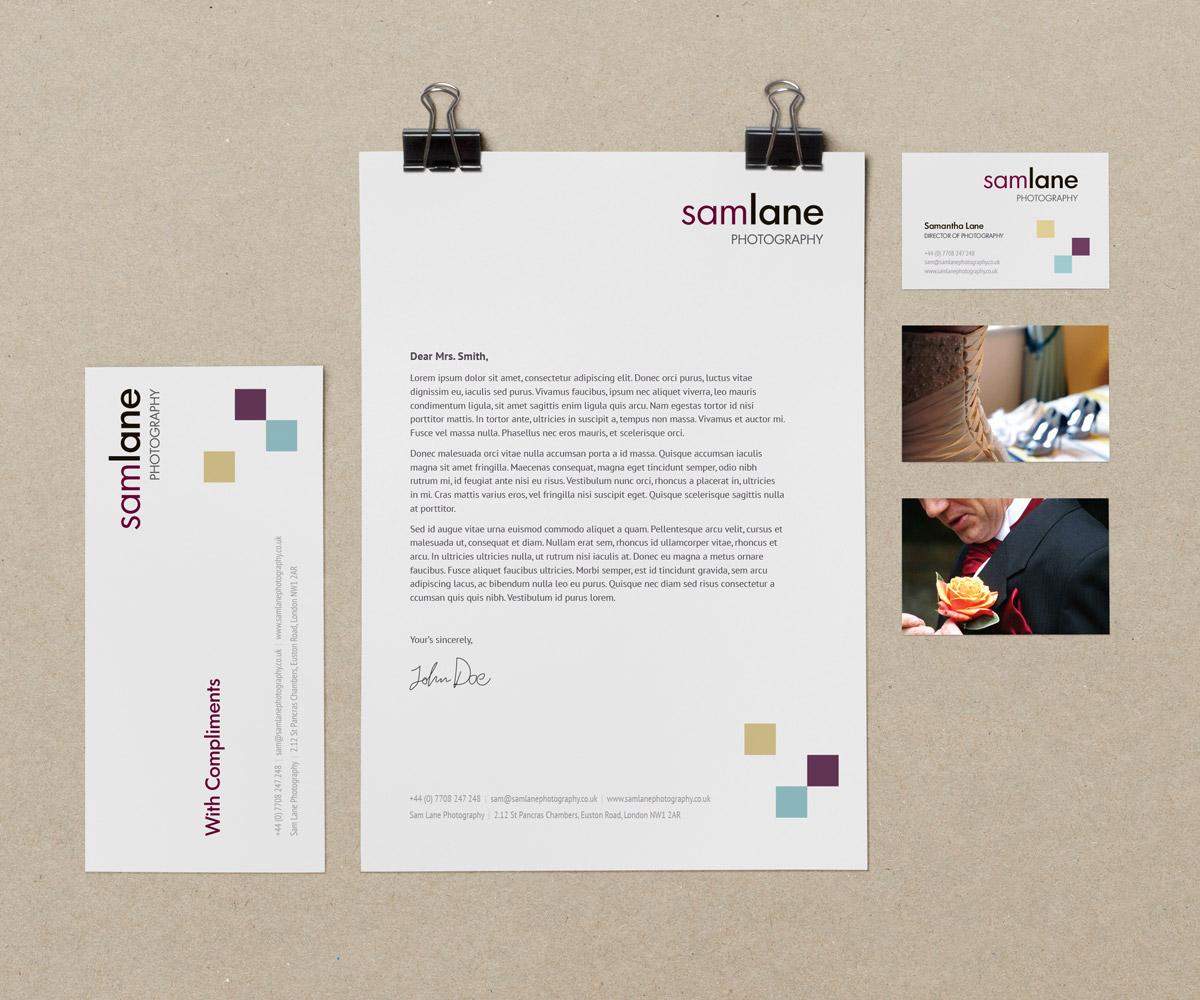 Sam Lane Photography Branding