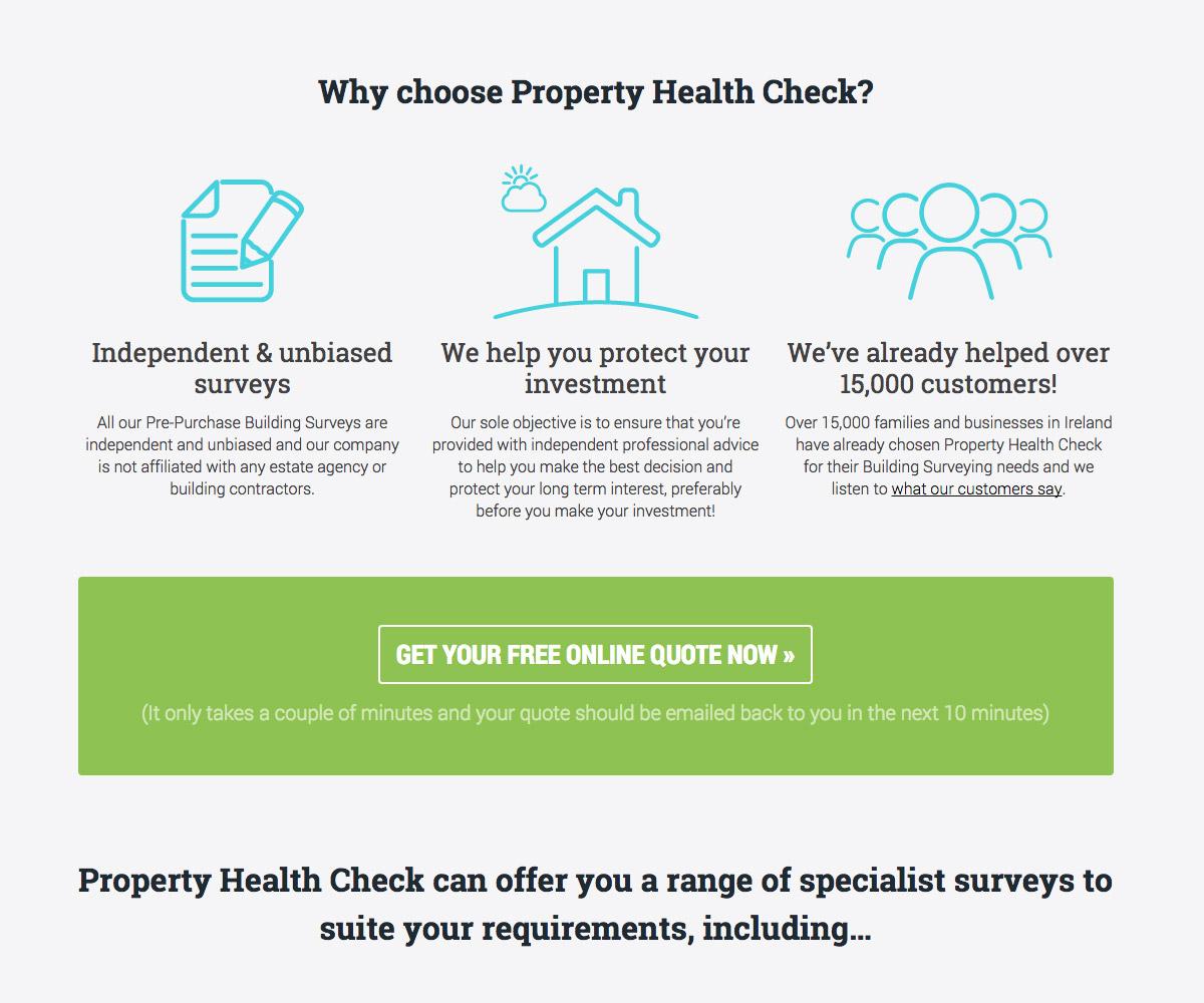 Property Health Check Website 1