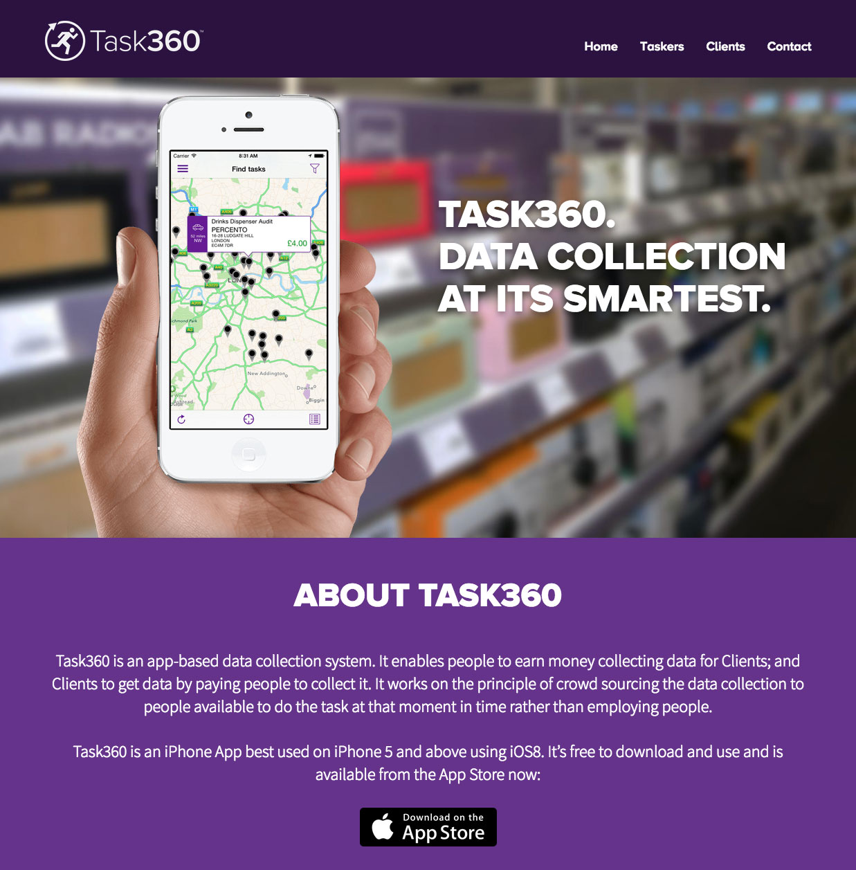 Task360 home page