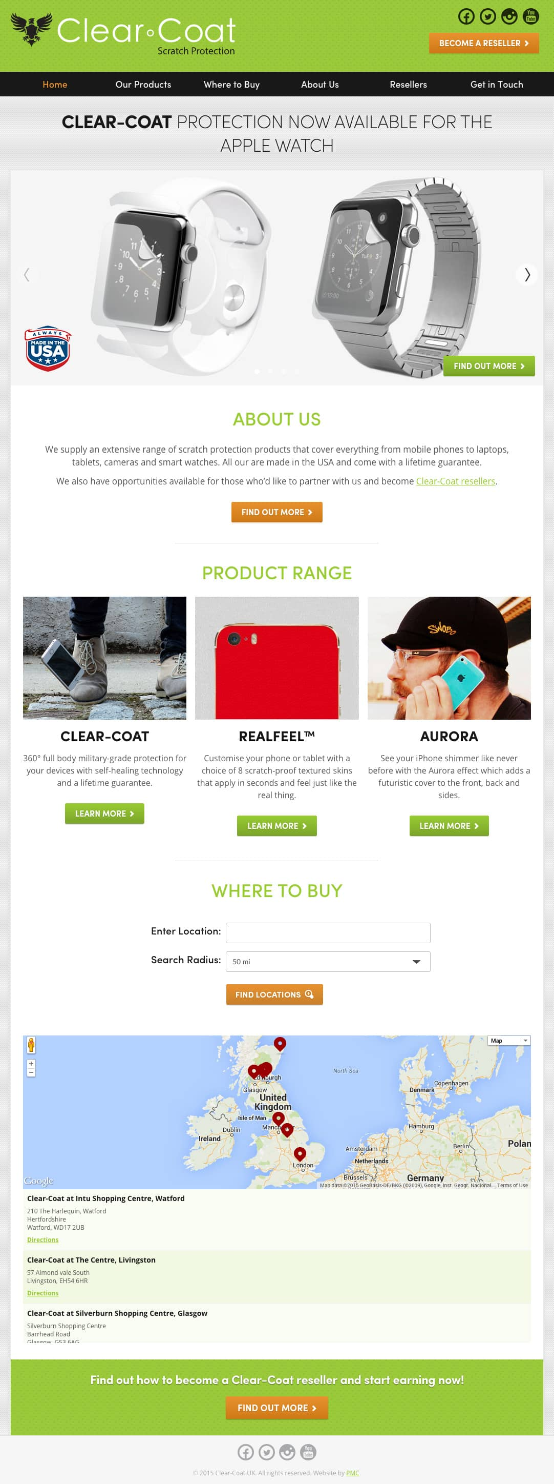 Clear-Coat UK Home Page